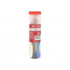 150pc Assorted Cable Ties In Jar