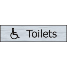 Toilets (with disabled symbol) - SSE (200 x 50mm)