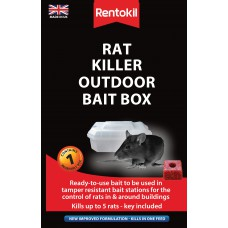 Rentokil - Rat Killer Outdoor Bait Box
