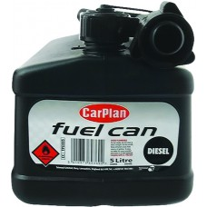 CarPlan Black Diesel Fuel Can - 5 Litre