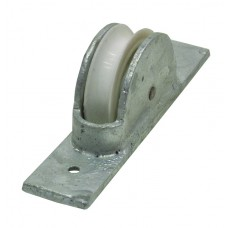 45mm Galvanised Steel Axle Pulley