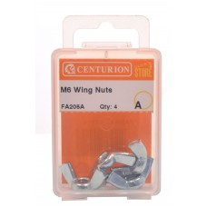 M6 ZP Wing Nuts  (Pack of 3)