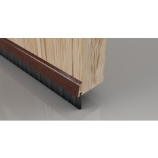834mm Pecan Effect Brush Strip