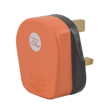 Orange Tough Plug - 13amp