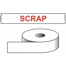 Scrap - printed tape (50mm x 66m)