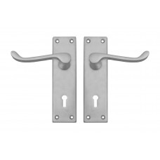 140mm SCP Victorian Scroll Lever Lock Handle