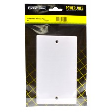 Double Safety Blanking Plate
