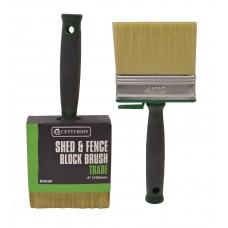 *TEMP OUT OF STOCK* Shed & Fence Block Brush