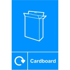 Recycling: Cardboard - SAV (150 x 200mm)