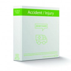 Accident Report Book Folder