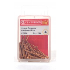 25mm Coppered Hardboard Pins (25g)
