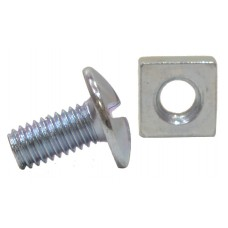 M6 x 12mm ZP Roofing Bolts