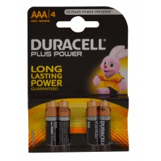 Duracell - Batteries - Plus Power AAA x 4