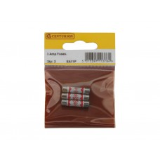 3 Amp Fuses (Pack of 3)