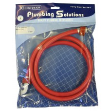 1.5m Red Washing Machine Hose