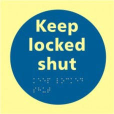 Keep locked shut - TaktylePh (150 x 150mm)