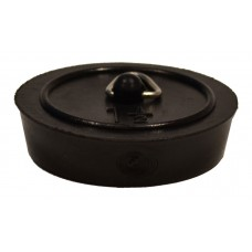 "1 1/2"" Black Sink/Bath Plug"