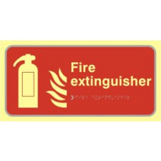 Fire extinguisher - TaktylePh (300 x 150mm)