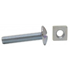 M6 x 30mm ZP Roofing Bolts