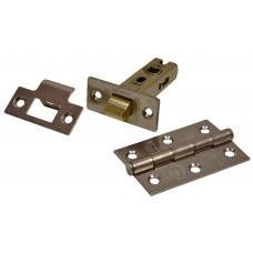 Latch & Hinge Packs - SNP - CE Fire Rated - 4PK