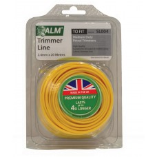SL004 ALM 2.4mm x 20m Yellow Trimmer Line