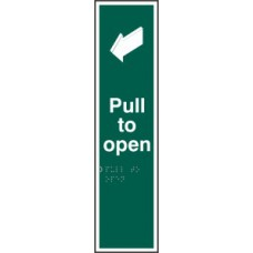 Pull to open - Taktyle (75 x 300mm)