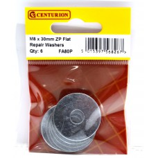 M8 x 30mm ZP Flat Repair Washers