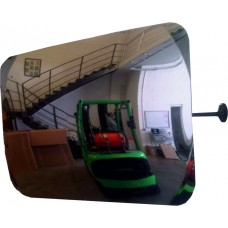 Internal Convex Surveillance mirror 600 x 400mm