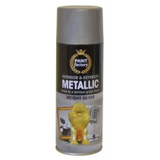 400ml Bright Silver Metallic Paint (DGN)