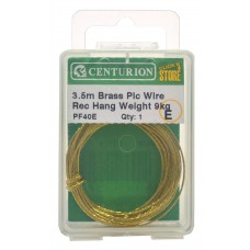 3.5m Brass Picture Wire