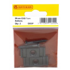 38mm EXB Turn Button (Pack of 2)