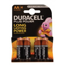 Duracell - Batteries - Plus Power AA x 4