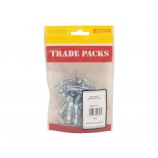 Blind Screw Anchors - ZP - M5 x 45mm (18 PK)