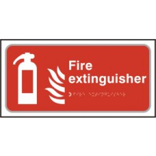 Fire extinguisher - Taktyle (300 x 150mm)