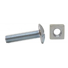 M6 x 25mm ZP Roofing Bolts
