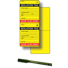 Isolation Tag Kit (50 inserts, 1 pen)