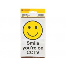 89mm x 150mm Home Safe Pack 'Smile You're on CCTV' (Pack of 2)