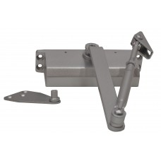 Max - 60kg Silver Hydraulic Door Closer