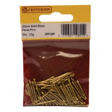 20mm Solid Brass Panel Pins (25g)