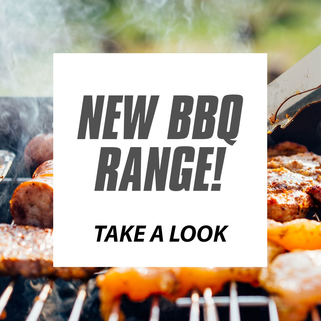 NEW BBQ RANGE COMING SOON