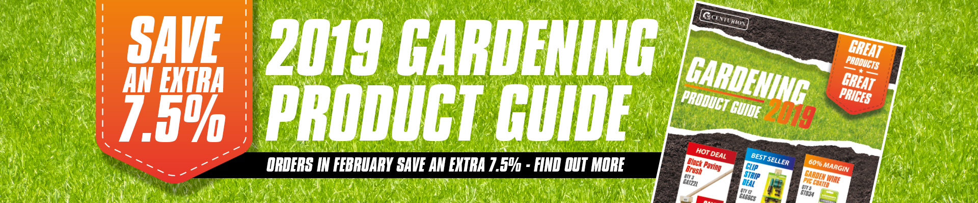 wholesale gardening products supplier uk special offers