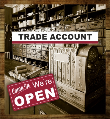 Sign up for trade account
