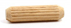 Fluted Wood Dowels
