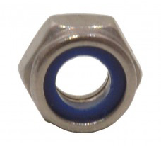 Zinc Plated Nylon Locking Nuts