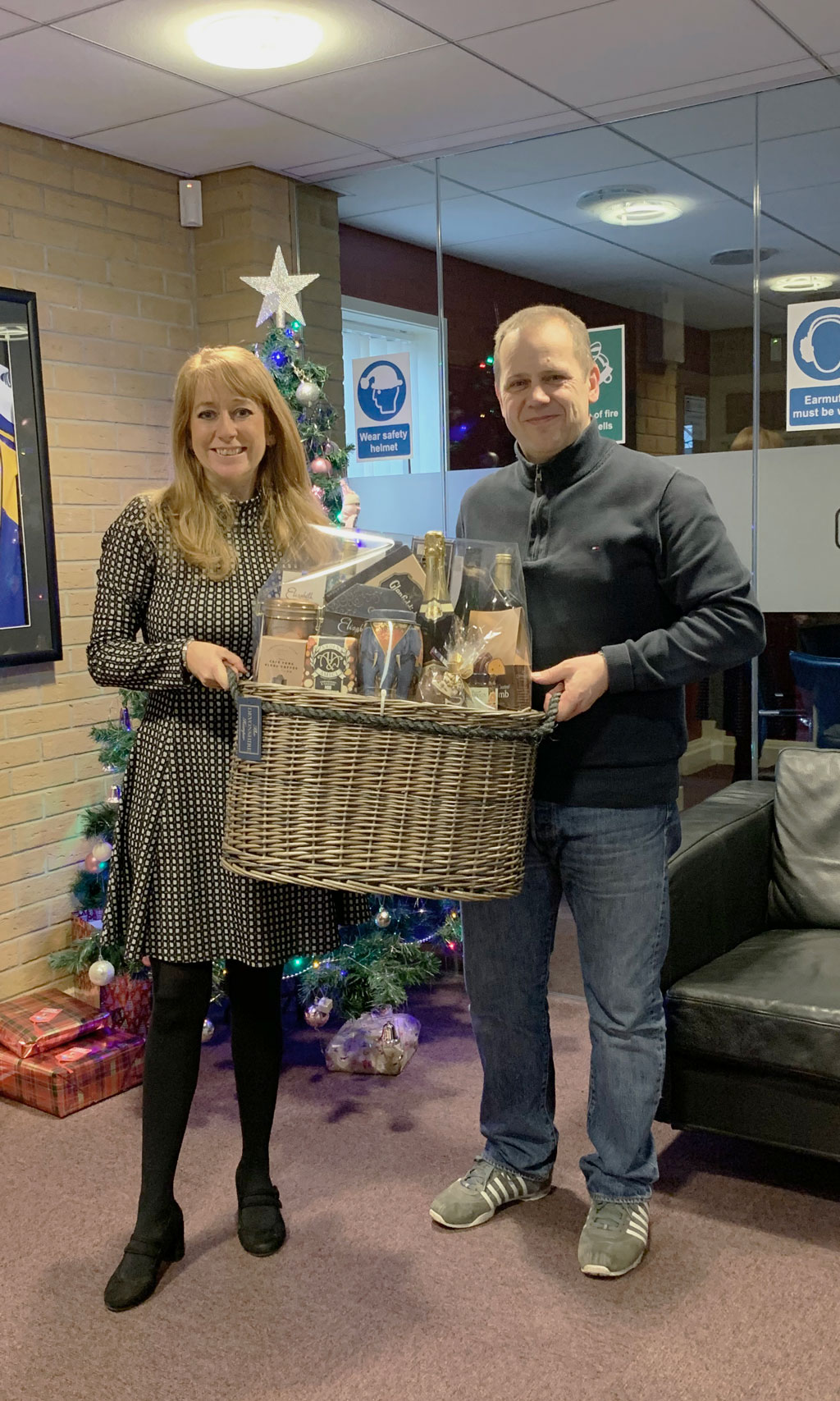 Wholesale hamper winner