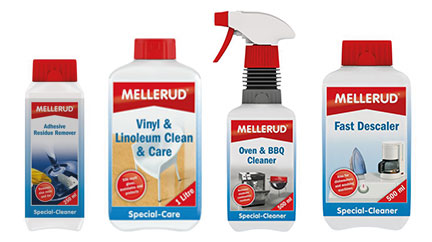 Mellerud Cleaners Bottles